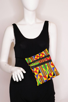 Kente Cloth Printed Crossbody bag